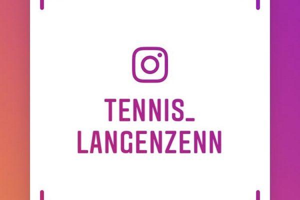 NEU: Tennisabteilung ab sofort auch bei Instagram zu finden